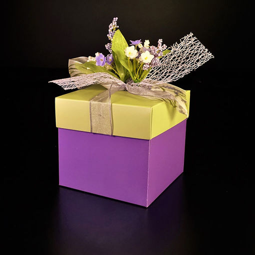 Afbeelding van Bonbon doosjes gevuld met bonbons 500 gram