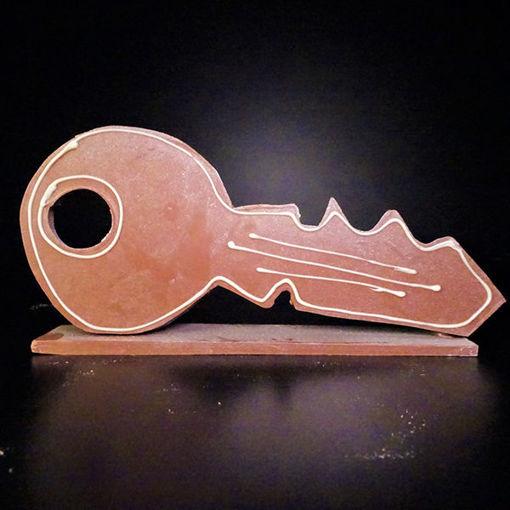 Afbeelding van Chocolade Sleutel handgemaakt