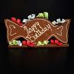 Afbeelding van Chocolade Strik Handgemaakt