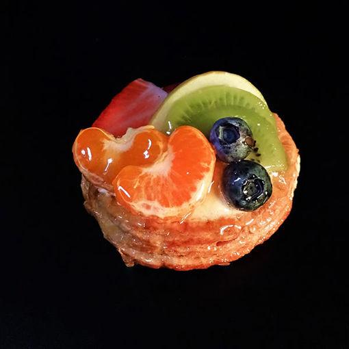 Afbeelding van Krokante schelp met Vers fruit