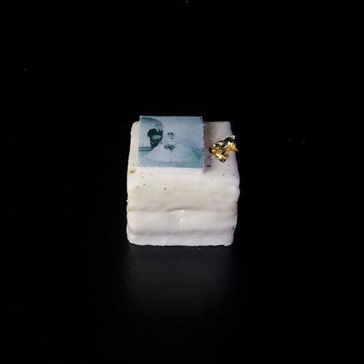 Afbeelding van Mini Receptiegebak met foto of logo