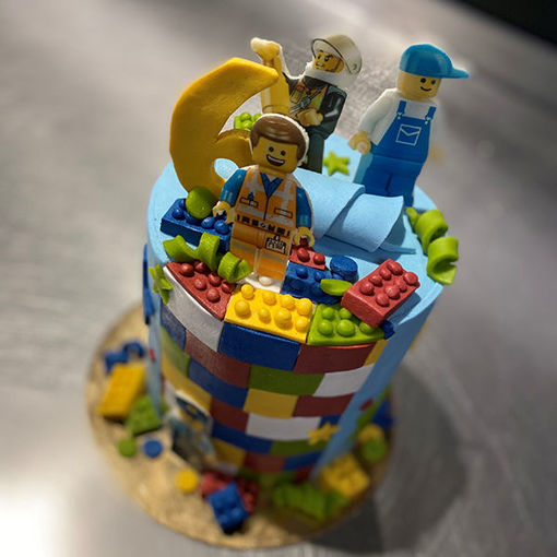 Afbeelding van Unieke hoge Driptaart LEGO