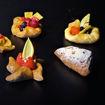 Afbeelding van Bladerdeeg hapje  Fruit gesorteerd