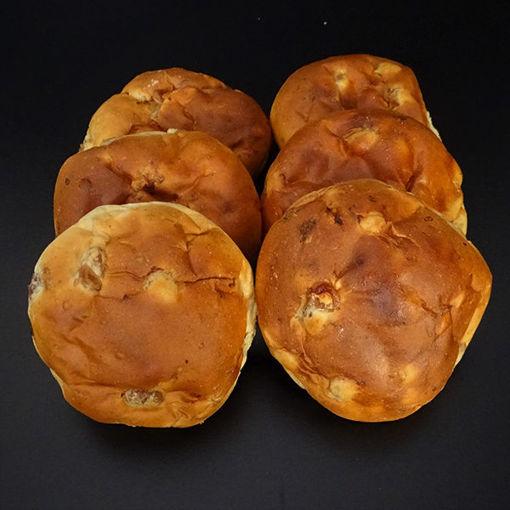 Afbeelding van rozijnenbollen per stuk