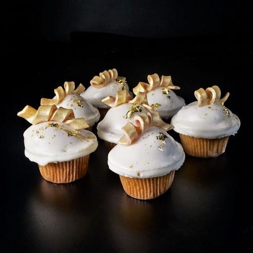 Afbeelding van Cupcake gedipt Luxe opgemaakt groot