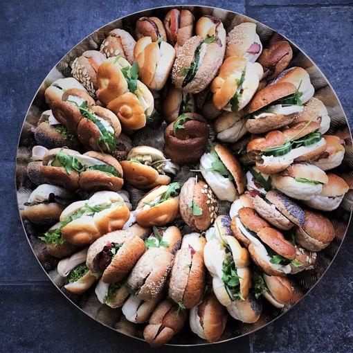 Afbeelding van Belegde Luxe broodjes zacht