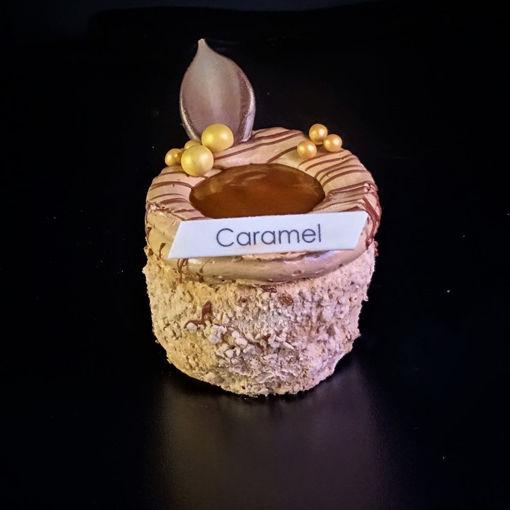 Afbeelding van Caramel-mokka cremegebakje